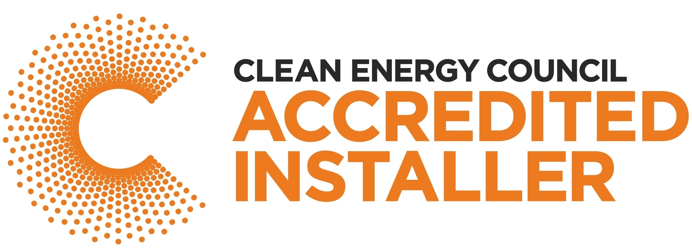 Clean Energy Council Accredited Installer Logo